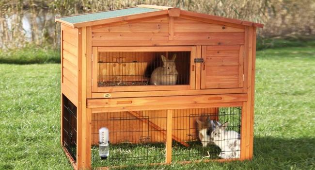 Домик для кроликов своими руками